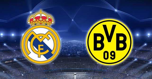 نتيجة مباراة ريال مدريد وبروسيا دورتموند Real Madrid vs Borussia Dortmund اليوم الثلاثاء 26/9/2017 الجولة الثانية من دوري أبطال أوروبا