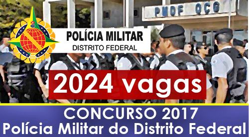 Concurso PMDF 2017