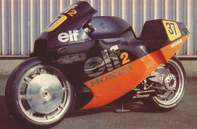 1984 Honda ELF ELF2 Motorbike