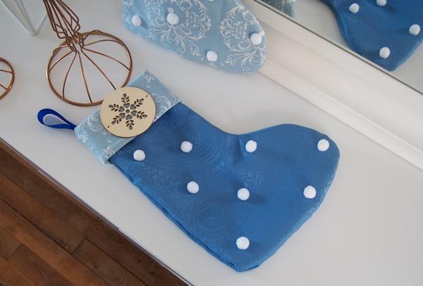Calendrier de l'Avent DIY chaussettes de Noël