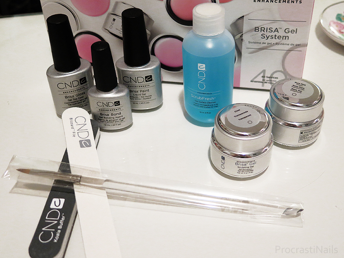 Nail Tech Diaries // My First Hard Gel Enhancements with CND Brisa ...