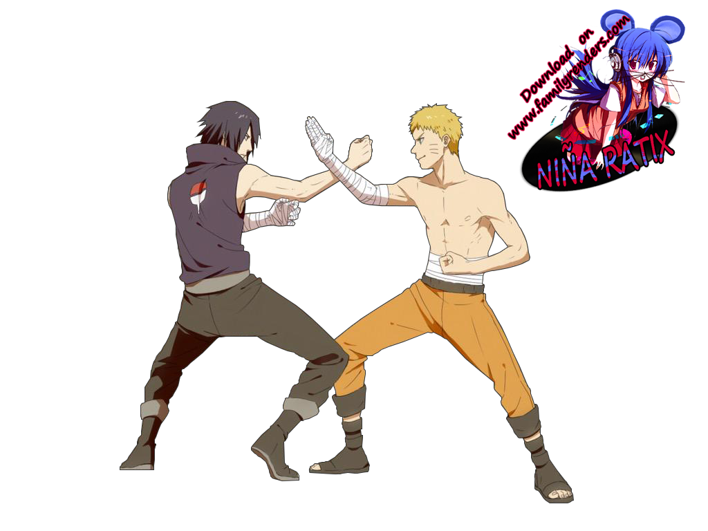 Render - Naruto VS Sasuke