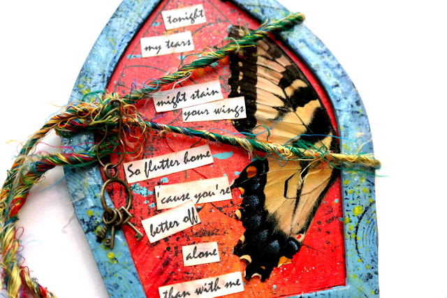 Flutter Girl Butterfly Arch by Dana Tatar for Tando Creative