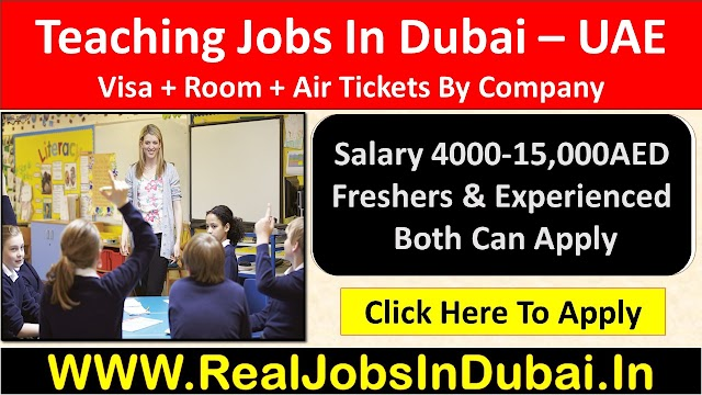 Teaching Jobs In Dubai , Abu Dhabi & Sharjah UAE