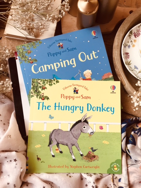 Heather Amery - Camping out // The hungry donkey