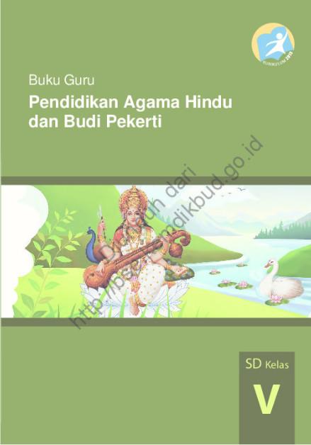 Download Buku Guru Kurikulum 2013 SD Kelas 5 Mata Pelajaran Pendidikan Agama Hindu dan Budi Pekerti