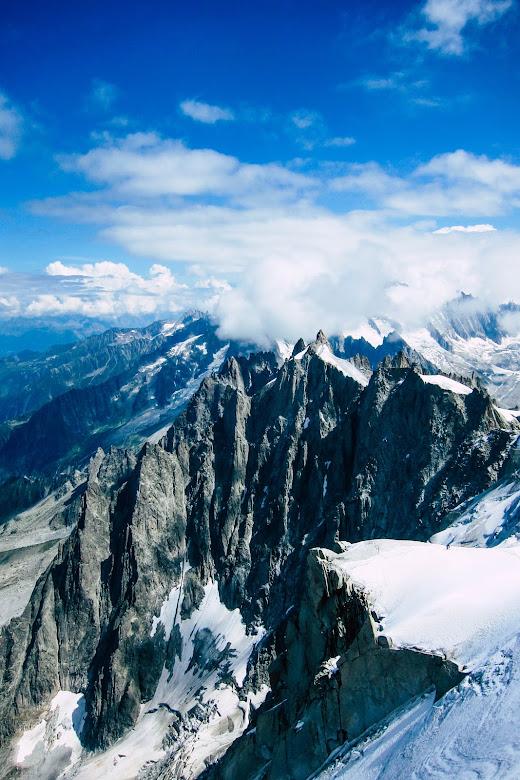 Aiguille du Midi, Chamonix Mont Blanc, Francie
