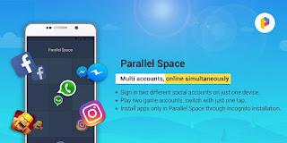 Parallel Space – Multi Accounts & Two face v4.0.8674 Pro  APK is Here!