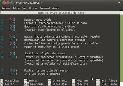 Cómo Instalar Y Usar Nano En Linux