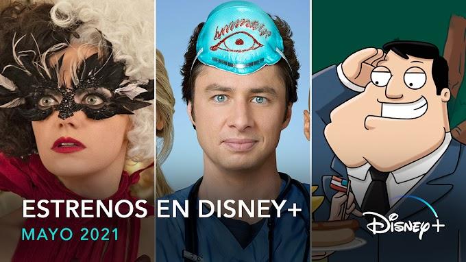 Estrenos y novedades que llegan en mayo 2021 a Disney+ en España