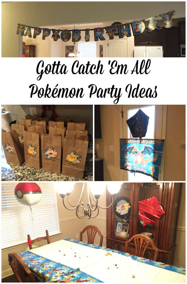 Pokémon Party Ideas