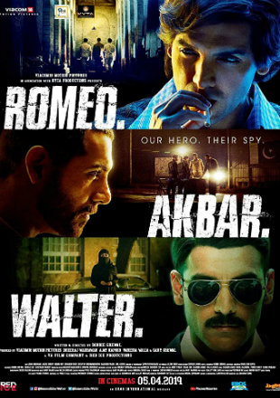 Romeo Akbar Walter 2019 Full Hindi Movie Download HDRip 720p