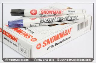 Spidol Boardmarker Snowman   Pekat Tintanya & Tahan Lama Penggunaannya