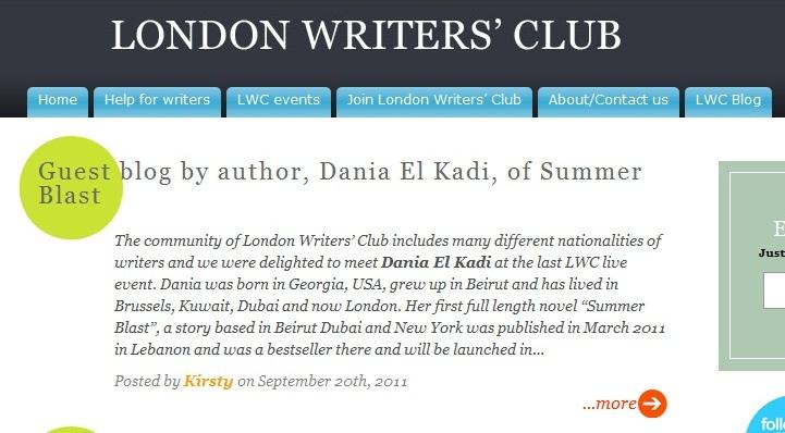Lebanese Writer: September 2011