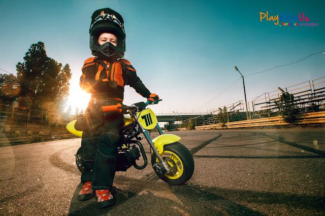 Moto électrique pour enfant