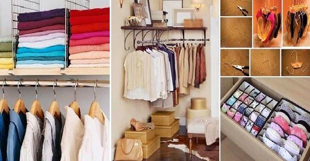 Ιδέες Τακτοποίησης-Αποθήκευσης για Ρούχα-Παπούτσια