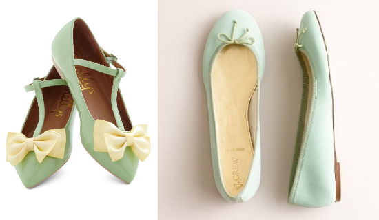 Ballerine per la sposa, Shellys of London, JCrew, bridal flats