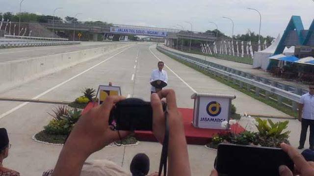 Ruas Tol Sragen-Ngawi Diresmikan Jokowi, Tarif Tol Jakarta-Surabaya Sekitar Rp 600.000