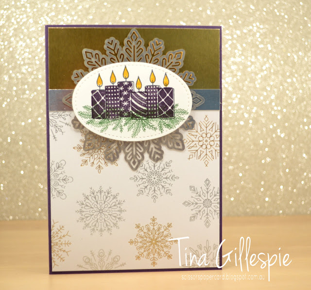 scissorspapercard, Stampin' Up!, Art With Heart, Year Of Cheer, Merry Patterns