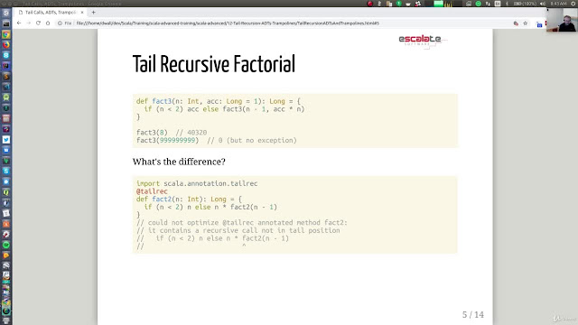 Scala Advanced, Part 3 - Functional Programming, Performance