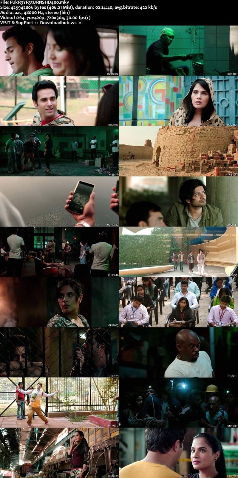 Fukrey Returns 2017 Hindi 480p HDRip