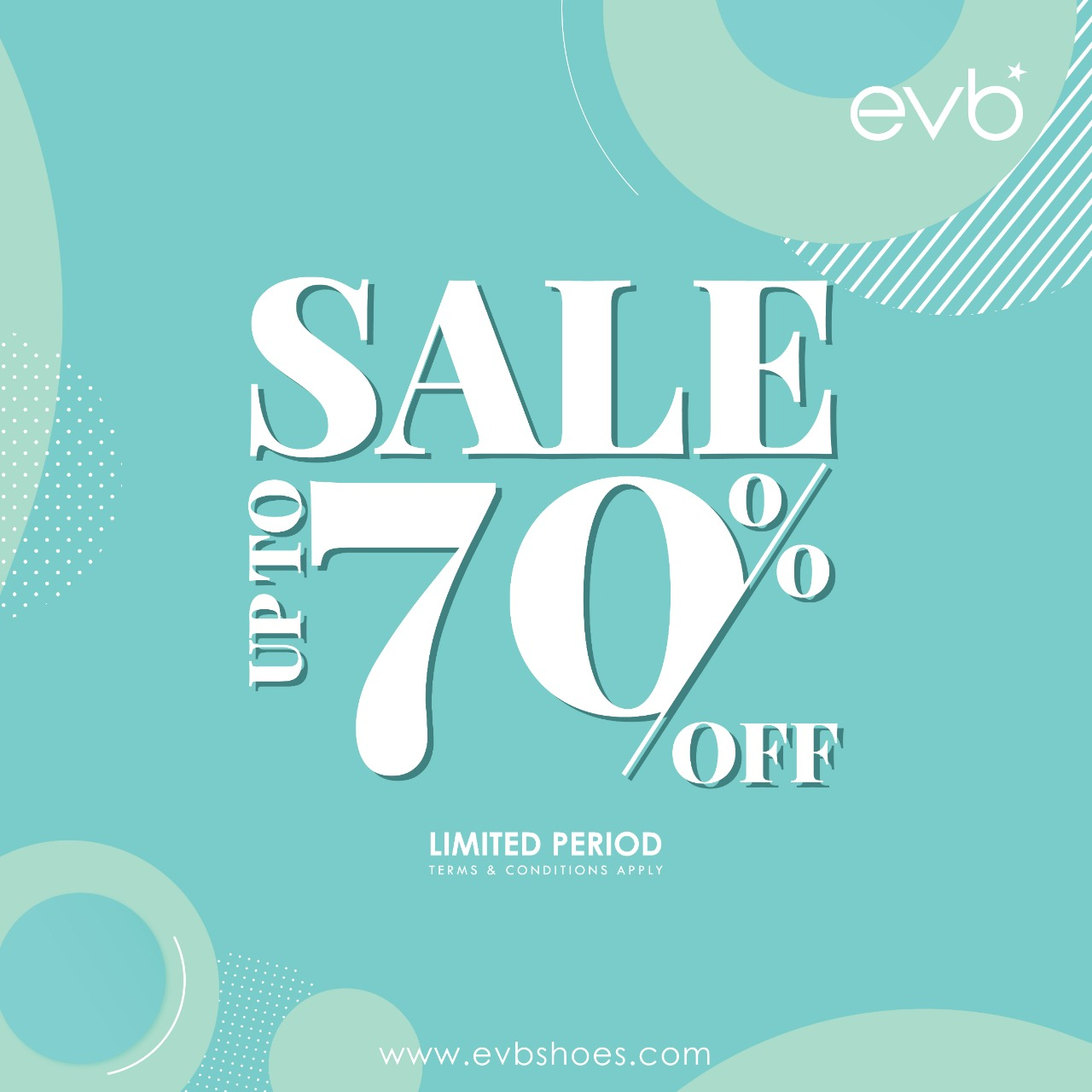 Promo EVB SALE! DISKON Up to 70% Off