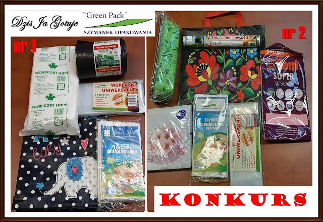 KONKURS! FPHU Green Pack & Dziś Ja Gotuję