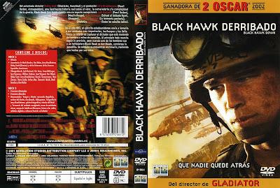 Carátula dvd: Black Hawk derribado (2001)