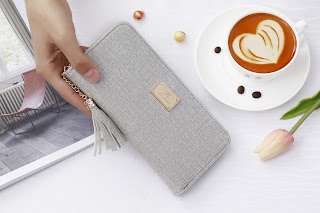 Dompet Compact Jims Honey Henna Wallet