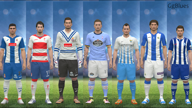 PES 2016 La Liga Kitpack Season 2016-2017