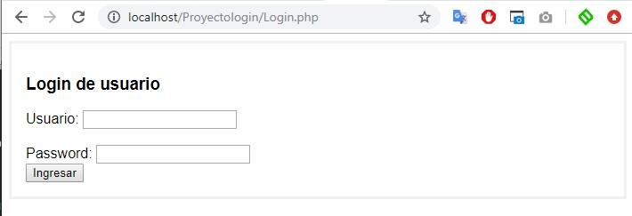 Hacer un login fácil en PHP y MySQL