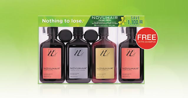 FREE Extra NOVUHAIR Herbal Shampoo