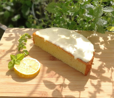 Citronmåne (Dänischer Zitronenmondkuchen)