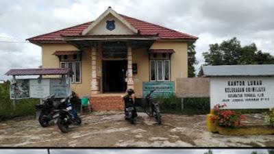 Pembangunan  Infrastuktur Kel.Sriwijaya Melalui DAW,disambut Baik Oleh Masyarakat
