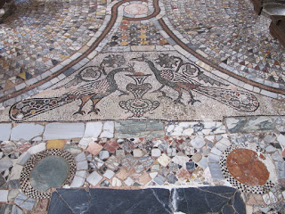 Byzantine mosaics in the Basilica dei Santi Maria e Donato, Murano