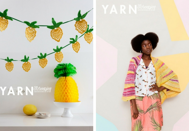 YARN Bookazine, the tropical issue (photos by Scheepjes) | Happy in Red