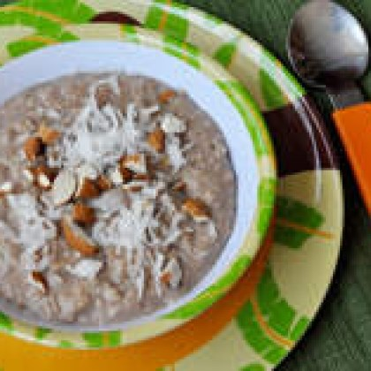 Almond Joy Style Oatmeal Recipe