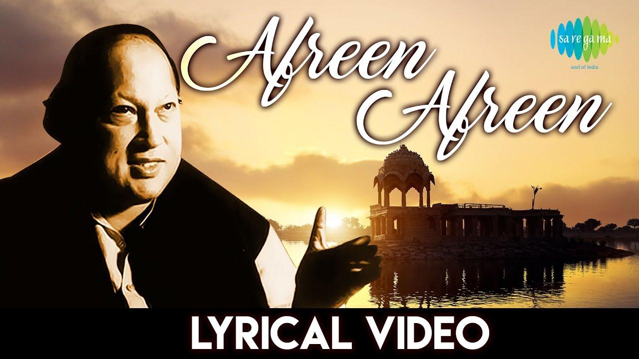 Afreen Afreen Lyrics Nusrat Fateh Ali Khan