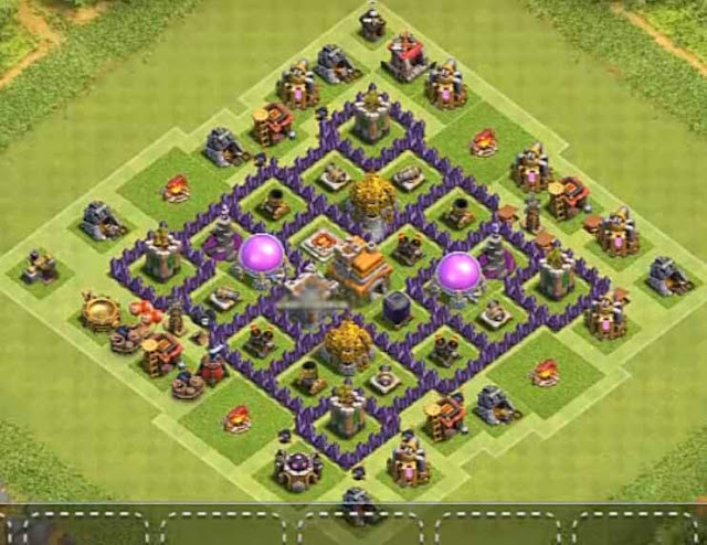 Base Town Hall 7 Clash of Clans Farming