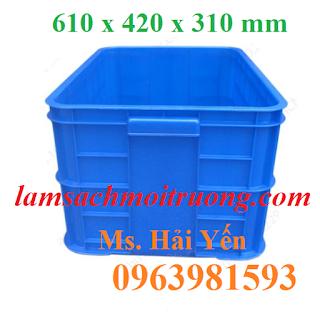 Thùng nhựa đặc, thùng nhựa công nghiệp, sóng nhựa đặc giá rẻ