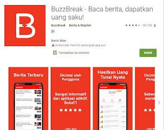 buzzbreak aplikasi penghasil pulsa gratis