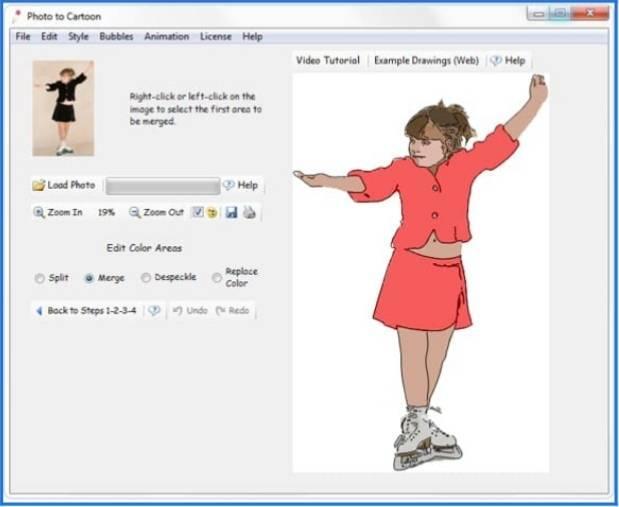 تنزيل أفضل برنامج لتحويل الصور العادية الى رسم كرتوني مميز مجانا وبرابط مباشر للكمبيوتر