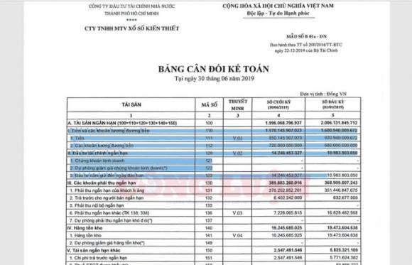 Tổng giám đốc Công ty XSKT TP.Hồ Chí Minh bố trí em ruột làm kế toán tài vụ