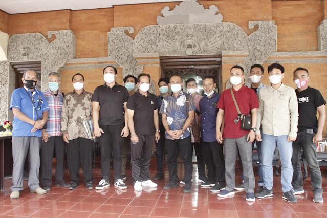 Humas DPRD Lotim belajar pola kerjasama media ke Kabupaten Bangli