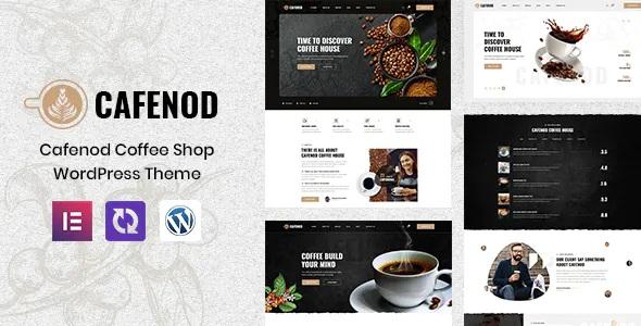 Best Coffee Shop WordPress Theme