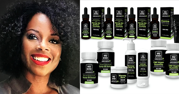 Odette Christie, Black woman founder of Nuevo Organics