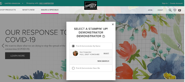 Nigezza Creates Stampin' Up! New Shopping Website: Guide to using it