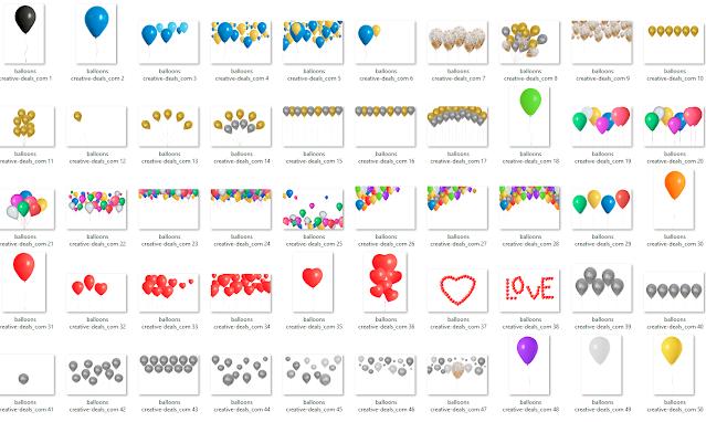 Balloons Overlay