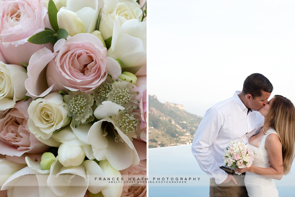 Wedding flowers in Ravello