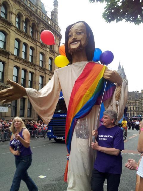 Jesus in Love Blog: Proud Jesus blesses LGBT Pride parades